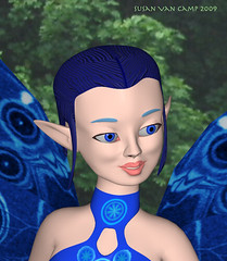 Blue Fairy face 1