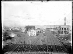 Bullock Island junction from Islington Railway Bridge, Islington, NSW, [n.d.] (Cultural Collections, University of Newcastle) Tags: newcastle rail railway australia nsw islington railwayjunction ralphsnowball snowballcollection ralphsnowballcollection asgn0807b37 newcastleregionnswhistorypictorialworks photographynewsouthwalesnewcastle railroadsnewsouthwalestrains