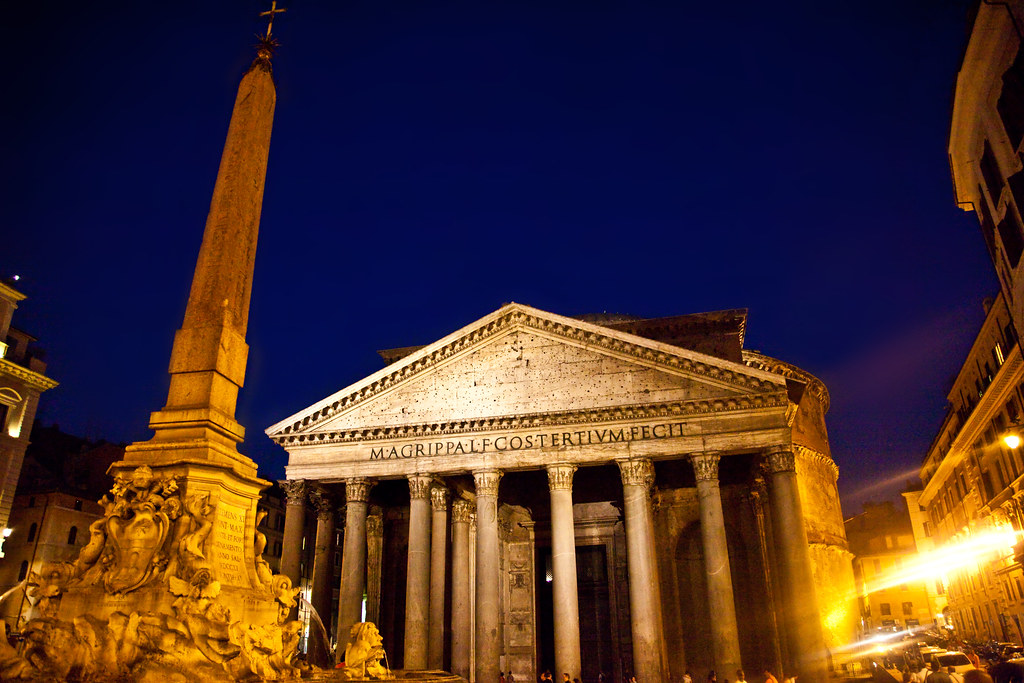 The Pantheon at Dusk