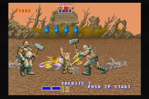 Golden Axe (arcade) - Virtual Console