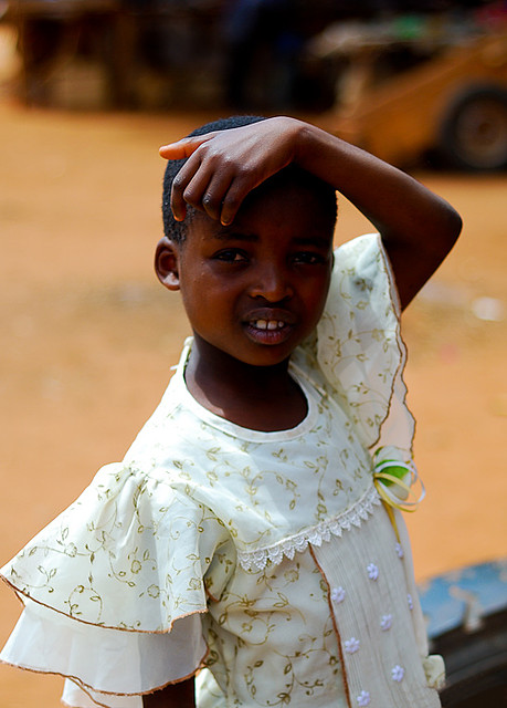 Girl in Maungu, Kenya