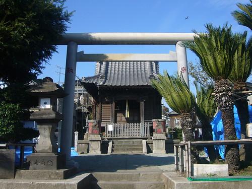 浦賀浜町為朝神社