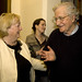 Monica McWilliams and Noam Chomsky