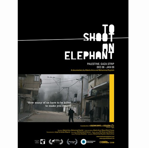 Cartel de To shoot an elephant