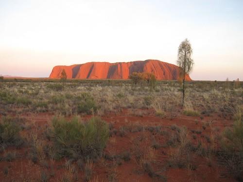Uluru日出Uluru日出