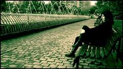 Soledad en la plaza