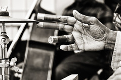 Silence the Symbol (Lori Foxworth) Tags: nyc musician hands symbol fingers streetperformer washboard nycsubway blackmusicians lorifoxworth yourdailycheesesteak lorifoxworthphotography blackwhiteandraw