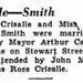 John Crisalle Thelma Smith marriage Amsterdam Recorder May 1 1935