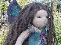 A Medieval  Fairy - Custom Doll