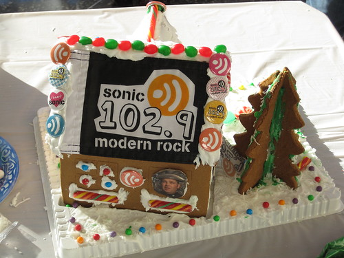 Sonic 102.9s G-bread house