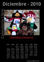 Diciembre 2010 Calendario libre