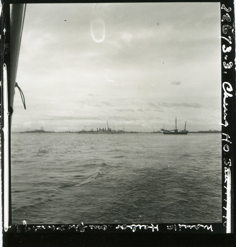 David Fairchild's first view of the Cheng Ho in Manila Harbor