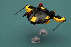 Blacktron Shellshocker (pasukaru76) Tags: lego space moc starfighter sigma105mm blacktron