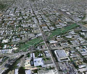 The proposed Hollywood Freeway Park won a SPARC award