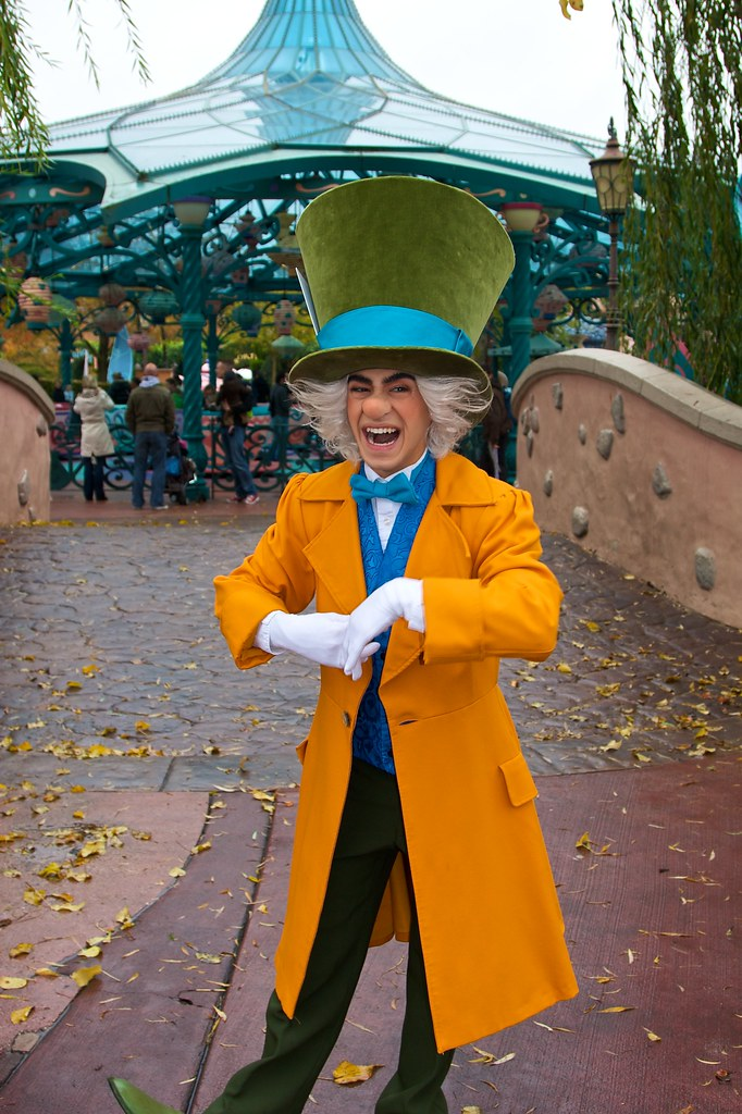 Mad Tea Party Disneyland Mad Hatter at Disney C...
