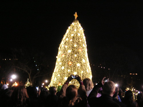 National Chrismas Tree Lighting 1