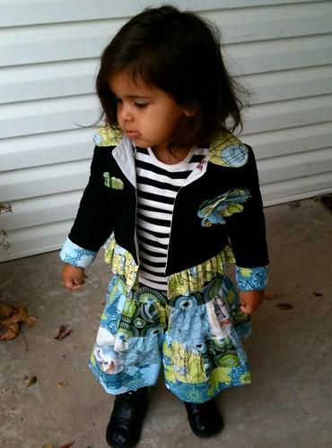 Sally's jacket + skirt