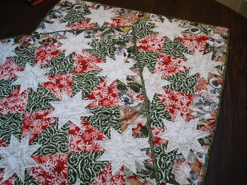 Hunter's star Xmas quilts 1