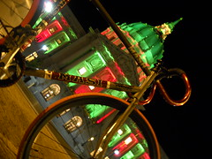 Tis The Season (J.B. Davis) Tags: sanfrancisco lighting city holiday bike hall holidays track masi ltd speciale