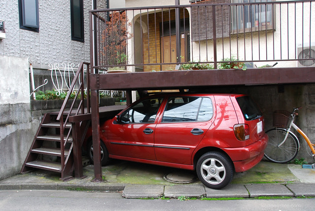 Ingenious Parking in Japan