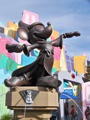 Sorcerer's Apprentice Mickey statue