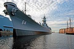 USS Wisconsin 2 - Iowa-class battleship (Sky Noir) Tags: sky museum wisconsin nikon noir norfolk battleship nikkor naval uss dickinson hamptonroads nauticus 18200mm tidewater f3556 iowaclass skynoir bybilldickinsonskynoircom