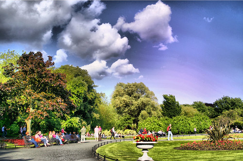 St. Stephen's Green Park by gnumarcelo, on Flickr