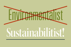 the Sustainabilitists …