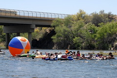 (ONE/MILLION) Tags: county arizona people hot beach beer phoenix river fun photo crazy google colorful flickr god photos great tubes salt young hats balls suit bikini rodeo bathing capture tubing tops crowds mesa daytrip maricopa onemillion my williestark godgreatbeergreatpeoplecrazy