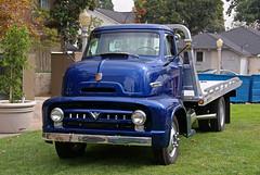 100210 Fullerton Car Show 197 (SoCalCarCulture) Tags: california ford car truck cab over engine fullerton coe 1953 sal18250 socalcarcultuecom socalcarcultue
