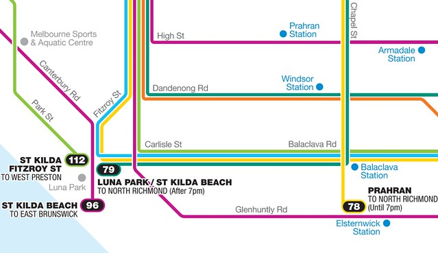POTD: YarraTrams new tram map better, but lots of errors