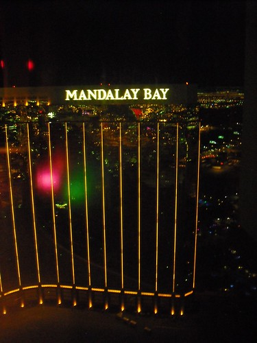 View of Mandalay Bay from Mix