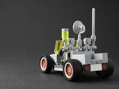 'Billy-Bug' SUV Rover (billyburg) Tags: lego classic space dune beach buggy bumblebee stripes fun cute rover utility vehicle suv moon lunar benny