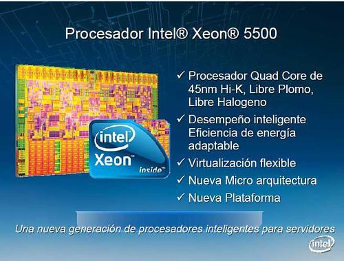 Lanzamiento del Intel Xeon 5500