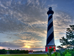 Cape Hatteras Lighthouse (jstrak) Tags: lighthouse dawn nc buxton hatteras hdr hdri photomatix