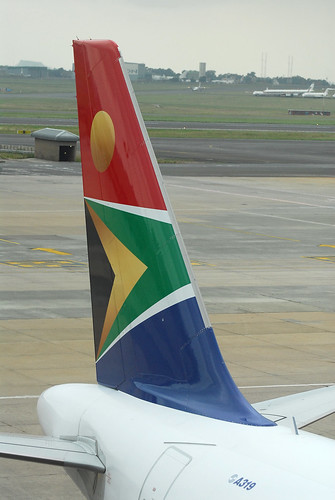 South African A319 ZS-SFI