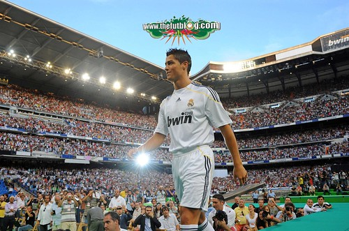 Presentacion Cristiano Ronaldo Real Madrid 5