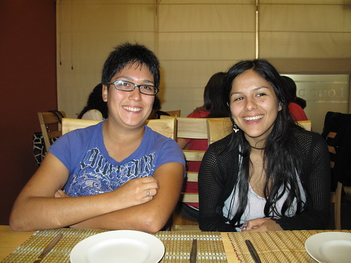 Vlads cousin Veronica and sister Nadia.
