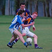 Dara Nelson and Declan Maher tussle
