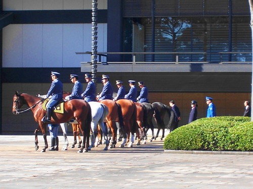 guards and horses