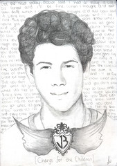 Nick Jonas Drawing No. 2 (lauraslw) Tags: children for little drawing nick change jonas bit longer a