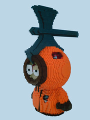 LEGO Kenny McKormick - killed by axe (dm_meister) Tags: dog dogs blood lego god details southpark axe oh killed bleed omg kenny broad bastards fabuland mckormick