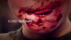 Bloody Lips or Strawberries Lips (Vampire_Bill) Tags: show ladies girls man hot sexy true lady tv kid blood women vampire guys bloody fangs vampires hbo fangbangers