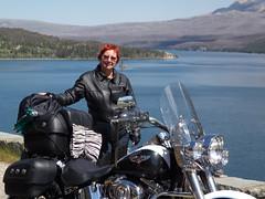 Peggy at Glacier Natiional Park