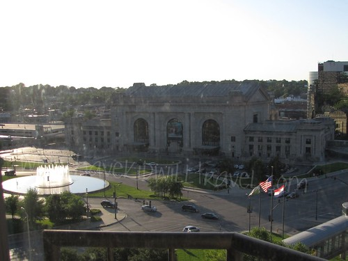 Union Station as viewed from the Westin