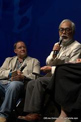 John Lasseter & Hideo Miyazaki