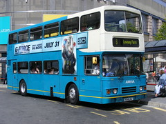 Arriva The Shires . 5091 F641FMJ . Luton . 28th-July-2009 (AndrewHA's) Tags: bus alexander luton leyland olympian arriva route8 5091 townservice lewseyfarm arrivatheshires f641lmj