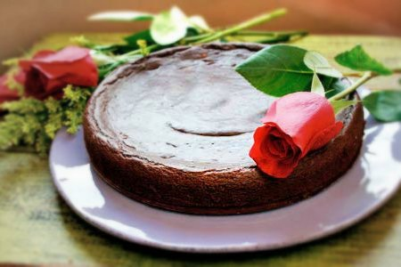 "Vegan ""Flourless""  Chocolate Cake Recipe"