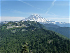 Mt Rainier From Florence Peak, 8.1.09.