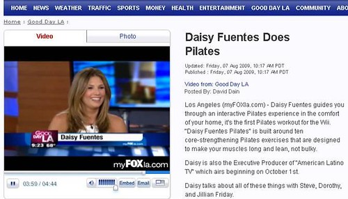 Daisy Fuentes on Good Day LA